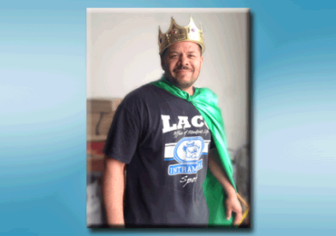 "All Hail Efrain Tapia, TRG's ""King of the Month!"""