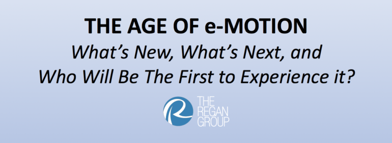 The Age of e-Motion